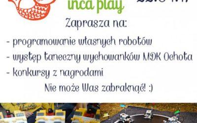 Roboty w Inca Play!