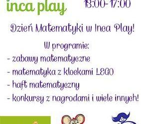 Dzień Matematyki w Inca Play!