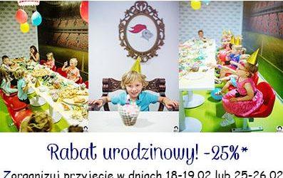 Rabat urodzinowy w lutym! :)